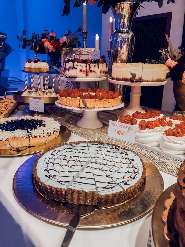 Słodki stół na weselu w Hotelu Bristol w Rzeszowie