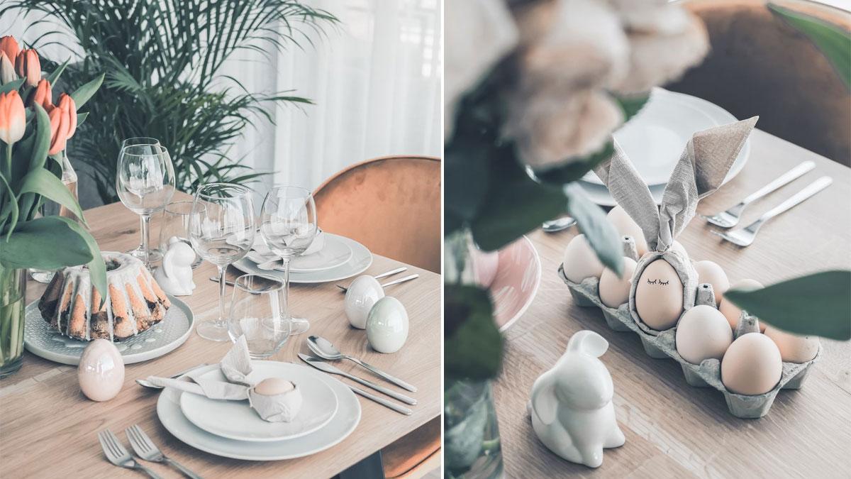 Wielkanocne dekoracje w stylu skandynawskim