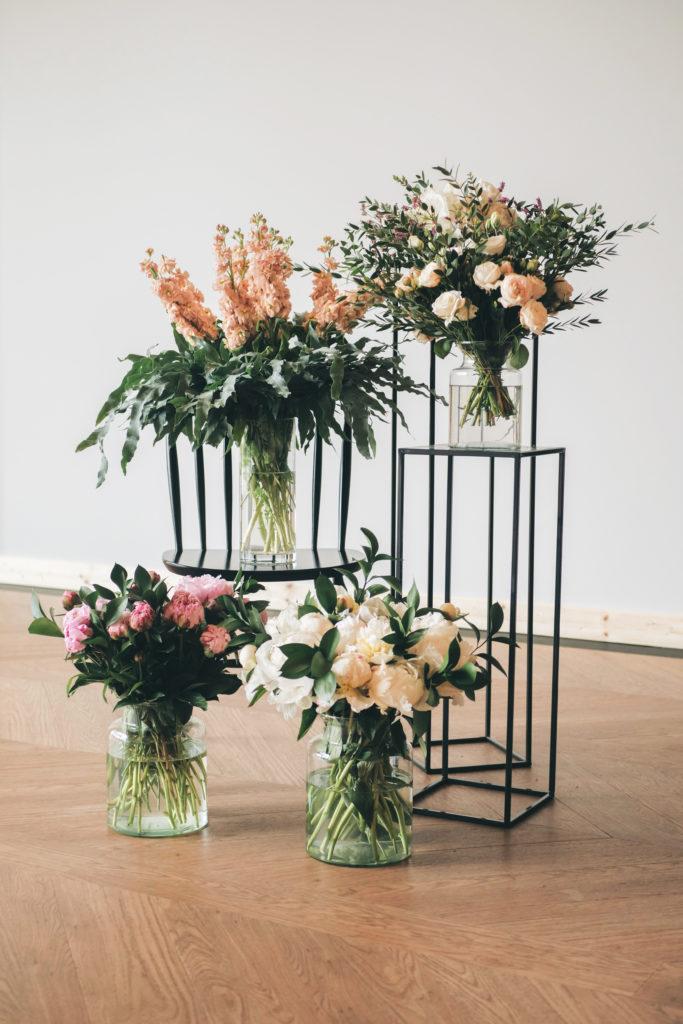 Kwiaty to absolutna podstawa dekoracji ślubnych!
